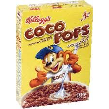 """Coco Pops: """"The best chocolate cereal ever that reminds you of your childhood."""" -  Orange, South Africa #lovemarks"""