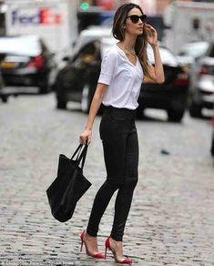 Tshirt, heels