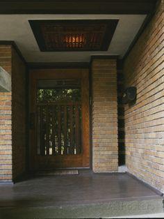 Harry Adams House. Oak Park, Illinois. 1913. Frank Lloyd Wright. Prairie Style.