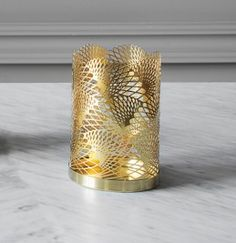 Candle Holder Celestial, Brass $87