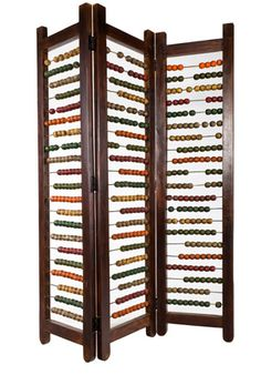 Abacus Room Divider.