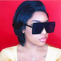 Feel like a cool fashion lady with our pixie cut hair😘😘 Wig name: Adriana 🎉🎉 Code: for off😜😜 Pixie Cut Wig, African American Girl, Hair Density, Wig Making, Human Hair Lace Wigs, Wigs For Black Women, Hairline, Looking Gorgeous, Hair Lengths