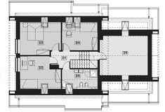 Projekt domu Lisandra 2M 122,9 m2 - koszt budowy - EXTRADOM Floor Plans, House, House 2, Architecture, Home, Homes, Floor Plan Drawing, Houses, House Floor Plans