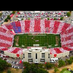 America and Arkansas football
