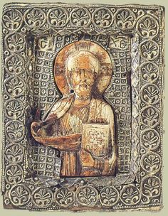 Icon: 'Christ the Pantocrator' Byzantium, Late - Early century Religious Icons, Religious Art, Ancient History, Art History, Church History, Byzantine Gold, Greek Icons, Russian Icons, Art Icon