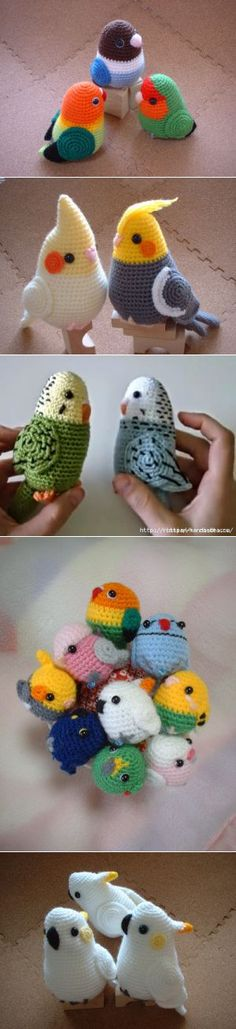 Find and save knitting and crochet schemas, simple recipes, and other ideas collected with love. Crochet Rabbit, Crochet Birds, Cute Crochet, Crochet Animals, Crochet Crafts, Crochet Dolls, Crochet Baby, Knit Crochet, Crotchet Patterns