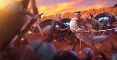 Samurai Jack by Roumen Filipov