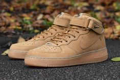 Nike Air Force 1 Mid QS: 'Flax'