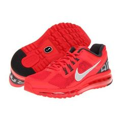 #Nike Air Max 2013 Womens Running Shoes - Hyper Red/Anthracite/White/