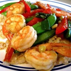 """Sesame Shrimp Stir-Fry 