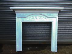 Charles Graham Architectural Antiques and Fireplaces - Original Antique Art Nouveau cast iron fire surround - Ref CS35