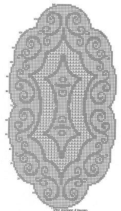 No link? Crochet Dollies, Crochet Doily Patterns, Tatting Patterns, Crochet Art, Crochet Home, Thread Crochet, Vintage Crochet, Crochet Designs, Crochet Stitches