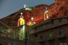 Ma'loula ! The oldest Christian church in the earth .. In Syria ..