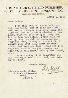 Famous Authors' Harshest Rejection Letters | Flavorwire