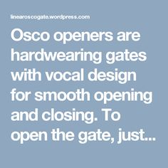 96 Best Business images | Gate operators, Access control, Magnetic Old Osco Gate Operator Wiring Diagram on osco gate opener manuals, eagle lift gate diagram, rolling gate diagram, osco gate parts, osco garage door openers, osco gate barrier,