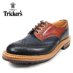 Amazon.co.jp: (トリッカーズ) Tricker's バートン M7292 ブラック/ネイビー/マルーン UK8(26.5cm): シューズ&バッグ:通販