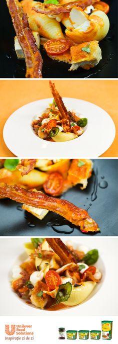PASTE SICILIENE Shrimp, Meat, Food, Eten, Meals, Diet