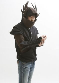 Become a Winged, Armored Knight By Donning a Hoodie