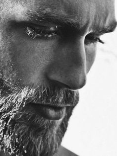 ≪≪american bohemianism ≫≫ Its A Mans World, Beard No Mustache, Beautiful Men, Beautiful Moments, Black And White Portraits, Black And White Photography, Beard Balm, Portrait Hommes, Facial Hair