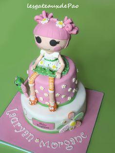 gâteau Lalaloopsy...