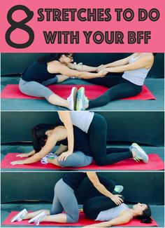 Eight Stretches To Do With Your BFF