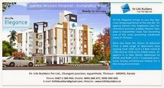 Hi-Life Elegance, the luxury residential #apartment from #Hi-Life builders Thrissur with top class amenities. For more details visit : http://www.hilifebuilders.in/
