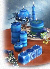 .blue candle fare.                t