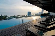 The Northam All Suite Penang - Swimming Pool Marina Bay Sands, Swimming Pools, Deck, Hotels, Relax, Resorts, Building, Outdoor Decor, Travel