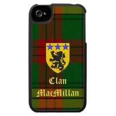 Clan MacMillan iPhone Case