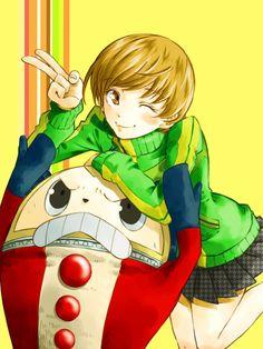 「クマ~!」/「おかだアンミツ」のイラスト [pixiv] 4 Images, Shin Megami Tensei, Japanese Games, Persona 4, Young Life, Image Boards, Cool Girl, Video Game, Drawings