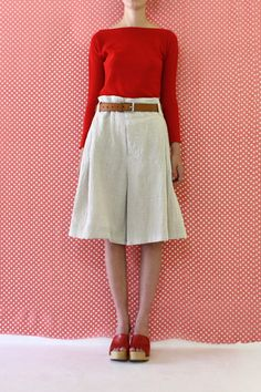 Daniela Gregis short trousers with pockets
