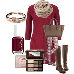 """""""Lady in Red"""" by bluestoneriver on Polyvore"""