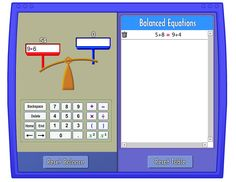 Pan Balance: Use this tool to strengthen understanding and computation of numerical expressions and equality. Sixth Grade Math, Second Grade Math, Grade 2, Commutative Property Of Addition, Numerical Expression, Properties Of Addition, Math Expressions, Math Work, Math Addition