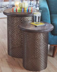 Impressive furniture pieces don't have to expensive—this Stunning Brass Homemade Side Table is a perfect example. This DIY side table is handy to have in your living room, bedroom, or anywhere else you need a new table.