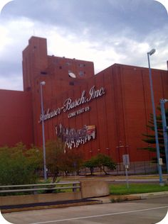 Anheuser-Busch, St Louis, Missouri...sticking with the name we love here in st. Louis