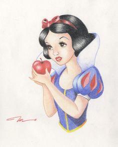 Snow White by Rainbubbles1011.deviantart.com on @deviantART