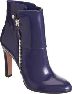 Gianvito Rossi Patent Cuffed Ankle Boot auf shopstyle.de