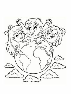 These chiropractic related coloring sheets for kids will provide a fun activity for the young ones in your practice while they wait for their next adjustment! Coloring Sheets For Kids, Colouring Pages, Art Rubric, Earth Day Activities, World Environment Day, Kids Around The World, Preschool Education, Drawing Projects, Art N Craft