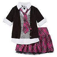 Knit Works® 2-pc. Top and Skirt Set - Preschool Girls 4-6x - Knit Works® 2-pc. Top and Skirt Set - Preschool Girls 4-6x