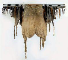 Cheyenne council shirt ca 1850, VonBank Coll., Germany