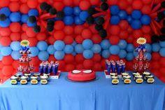 Mesa - Festa do Homem Aranha