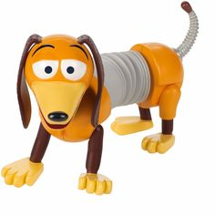 Bring cherished Disney Pixar Toy Story 4 scenes to life with everyone's favorite Slinky dog! Perfect gift for any Disney Pixar Toy Story fan. Slinky Toy, Toy Story Slinky, Disney Pixar Cars, Walt Disney, Lightning Mcqueen, Tarzan, Simpsons Marge, Funko Pop, Master Of The Universe