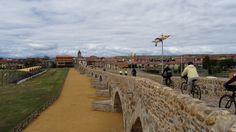 Fitero Bridge. Camino de Santiago Bike Tour from Burgos.