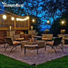 Patio Lighting Ideas Gallery Outdoor Patio Lighting – Make A Plan Patio Lighting Ideas Gallery. Outdoor Patio Lighting can help to transform your house at night and create a more functional p… Backyard Lighting, Outdoor Lighting, Outdoor Decor, Lighting Ideas, Lighting Design, Outdoor Cafe, Landscape Lighting, Cafe Lighting, Outdoor Benches