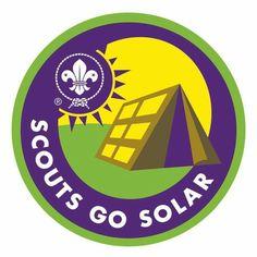 Scouts go solar