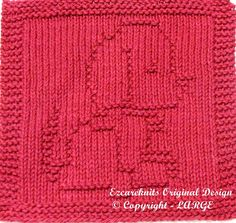 Knitting Cloth Pattern  ROVER  Instant Download by ezcareknits, $3.00