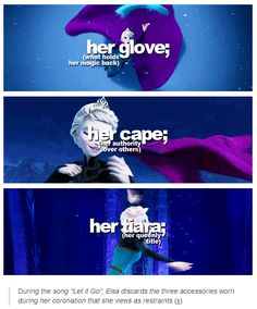 Frozen + restraints