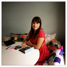 Behind-the-scenes of my new show - Rachel Khoo Rachel Khoo, Good Food Channel, New Shows, Creative Design, Food Ideas, Fox, Notes, Drawing, Diamond