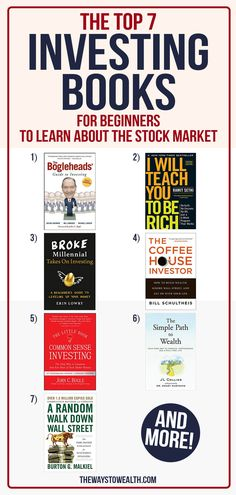 Looking to build wealth through stock market investing? Here's one financial planner's take on the best stock market/investing books for beginners — from learning the basics to gaining that first million. #Money #PersonalFinance #Investing #GetRich #Wealth Book Club Books, Good Books, Stock Market Books, Stock Trading Strategies, Wealth Quotes, Entrepreneur Books, Finance Books, Finance Tips, Stock Market Investing