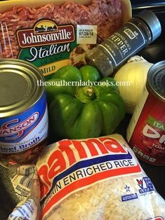 My family loves this unstuffed green pepper skillet meal! I added an Italian twist by using Italian Sausage and Italian diced tomatoes. Unstuffed Pepper Casserole, Green Pepper Casserole, Green Pepper Soup, Green Pepper Recipes, Bell Pepper, Sausage Recipes, Pork Recipes, Casserole Recipes, Cooking Recipes